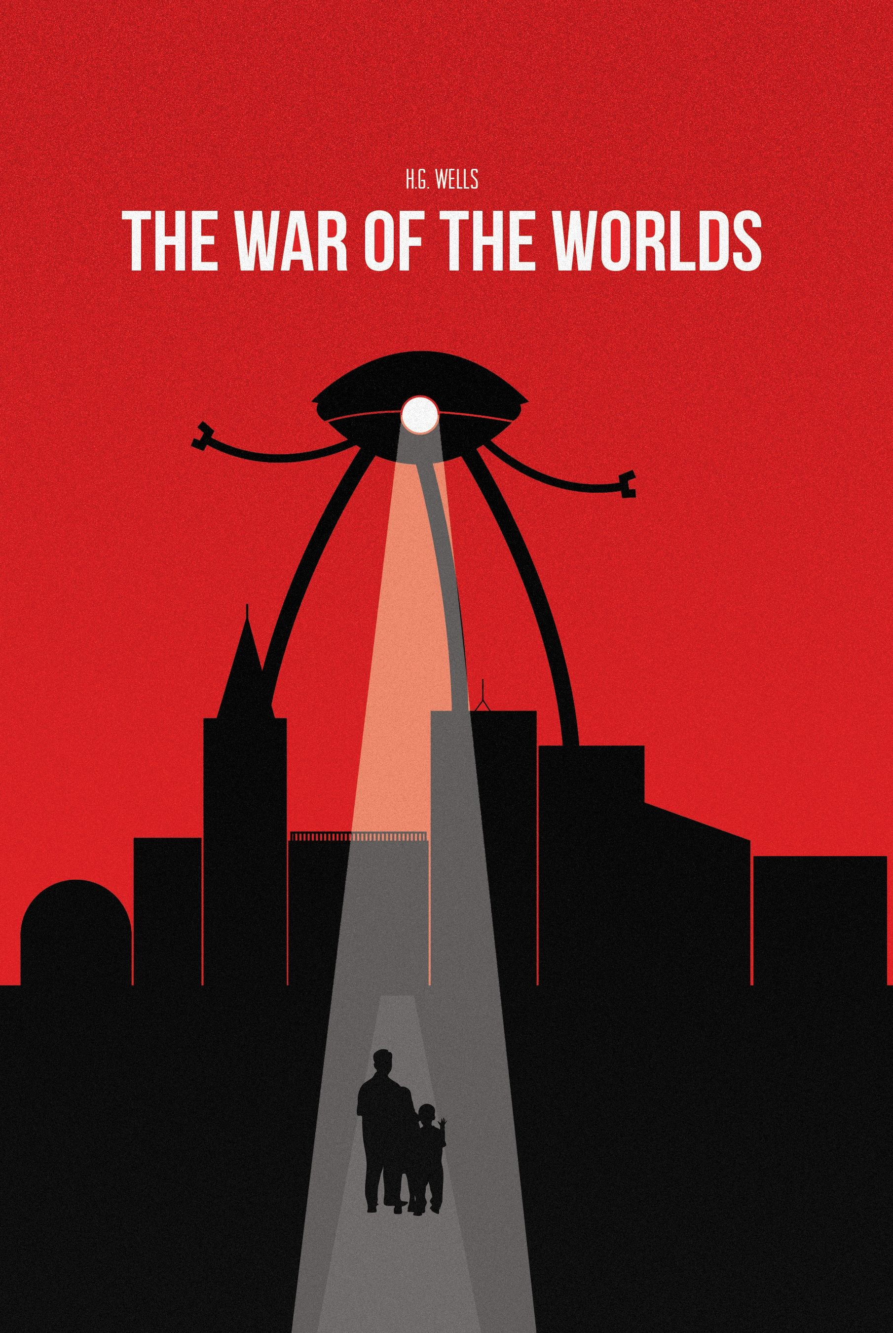 the war of the worlds book cover h.g wells