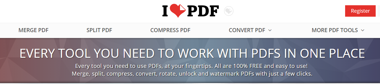 PDF convert, merge and unlock and much more