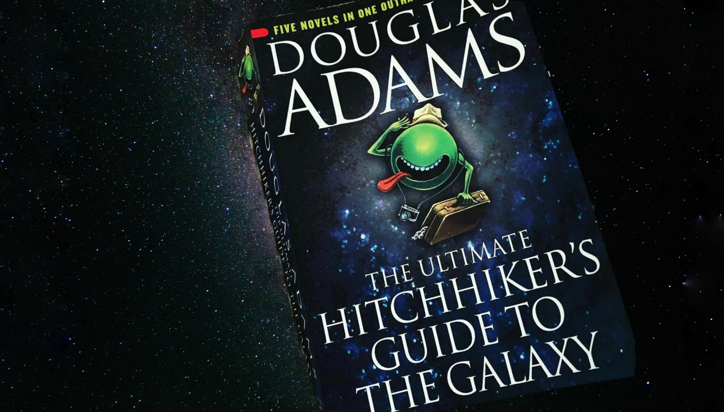 Took a Freakishly Long Time Reading Hitchhiker's Guide to the Galaxy, Still Enjoyed It.